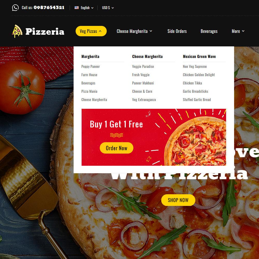 theme - Cibo & Ristorazione - Pizzeria - Pizza Fast Food Restaurant - 12