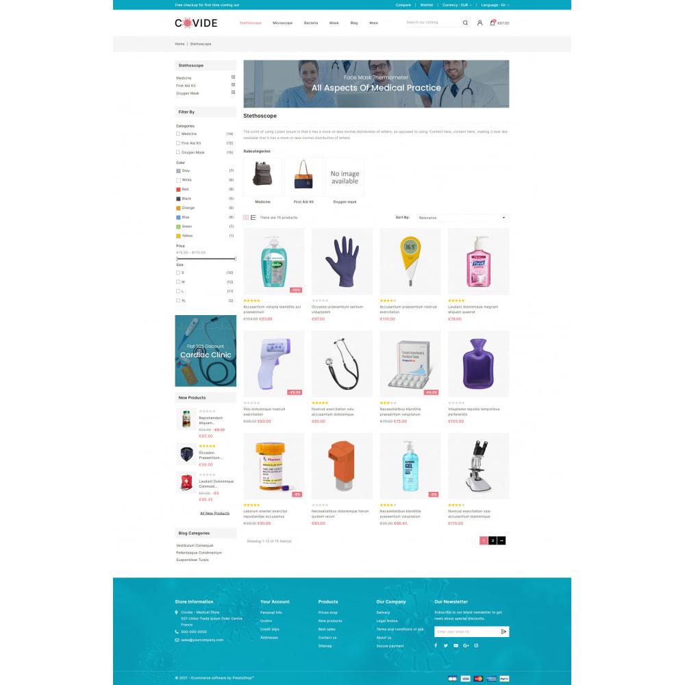 theme - Health & Beauty - Covide - Health & Drugs Store - 3
