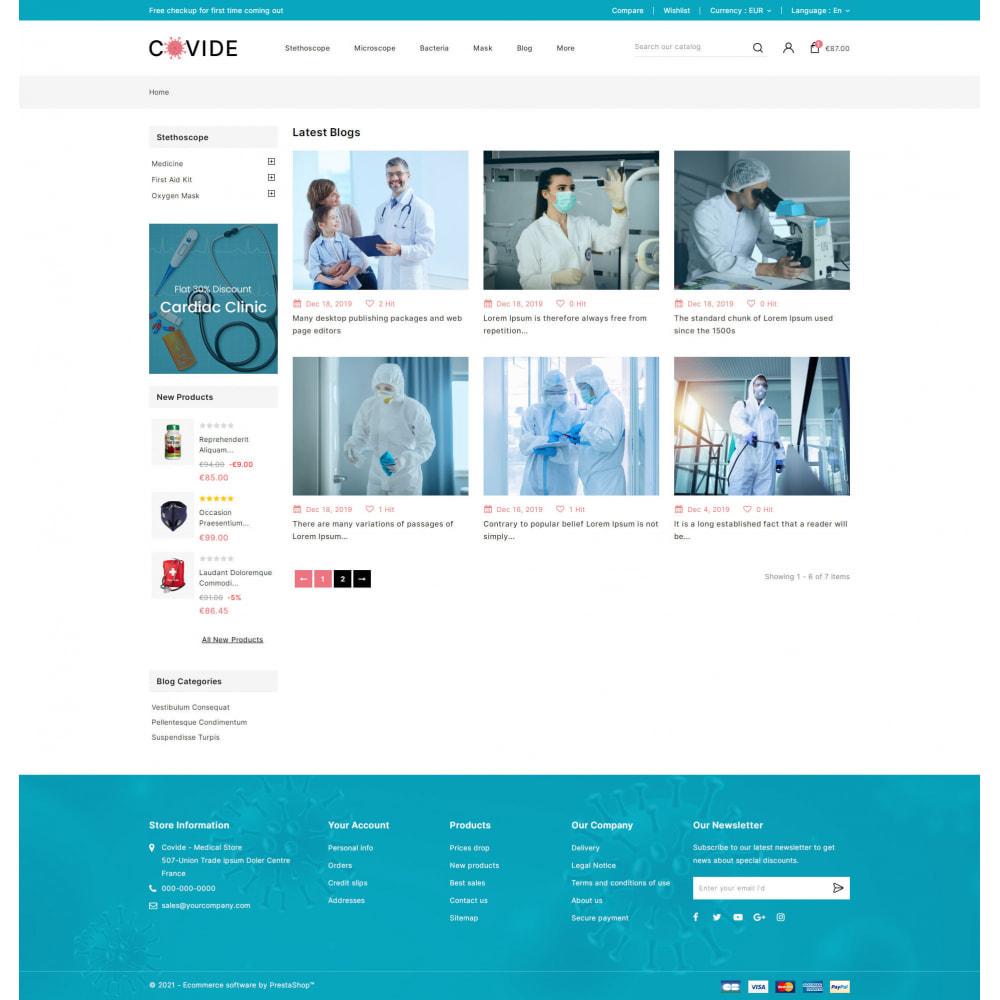 theme - Health & Beauty - Covide - Health & Drugs Store - 9