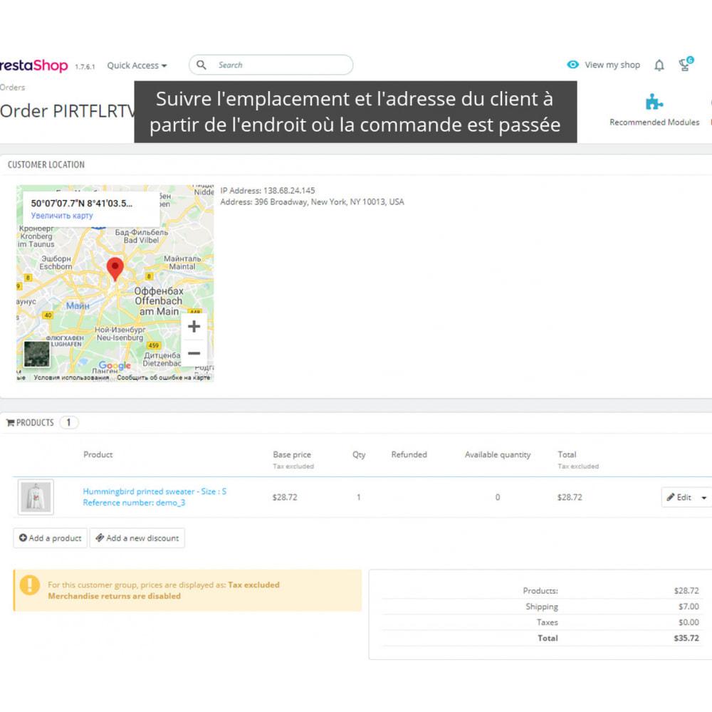 module - Sécurité & Accès - Interdire IP et Afficher Localisation / Adresse - 4