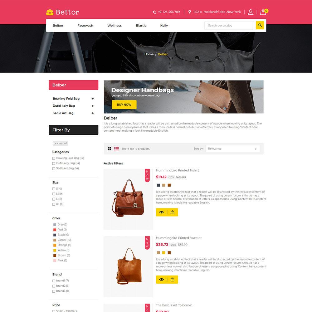theme - Mode & Chaussures - Betttor Bag - Magasin de sacs de voyage en cuir - 6