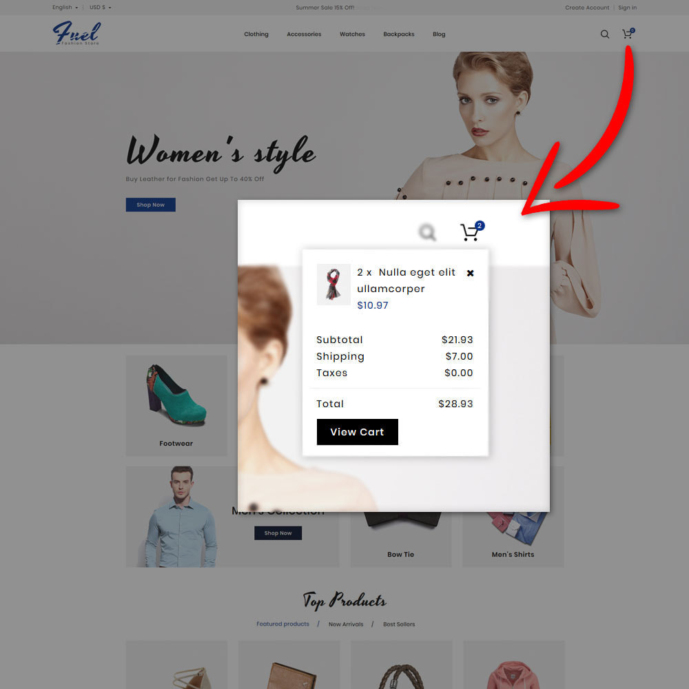 theme - Mode & Schuhe - Fuel - Fashion Shop - 6