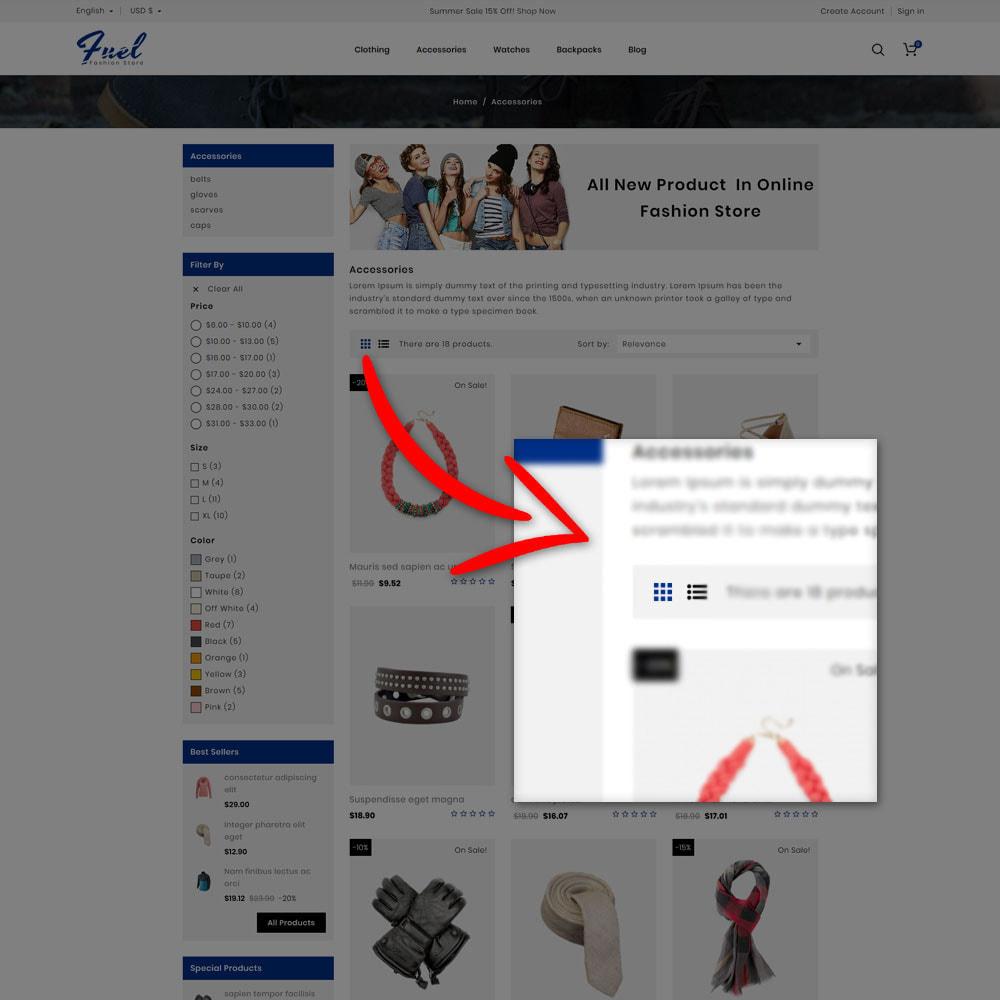 theme - Mode & Schuhe - Fuel - Fashion Shop - 7
