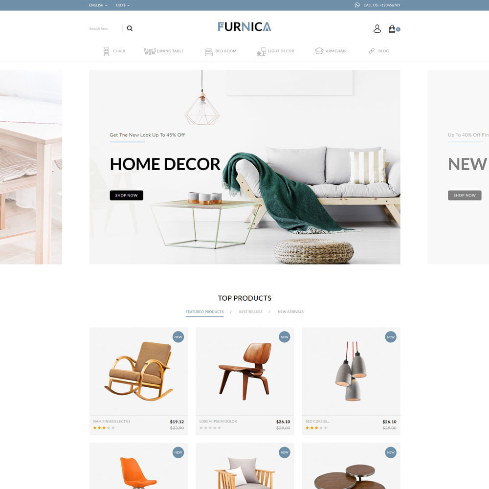 theme - Heim & Garten - Furnica - Furniture Shop - 1