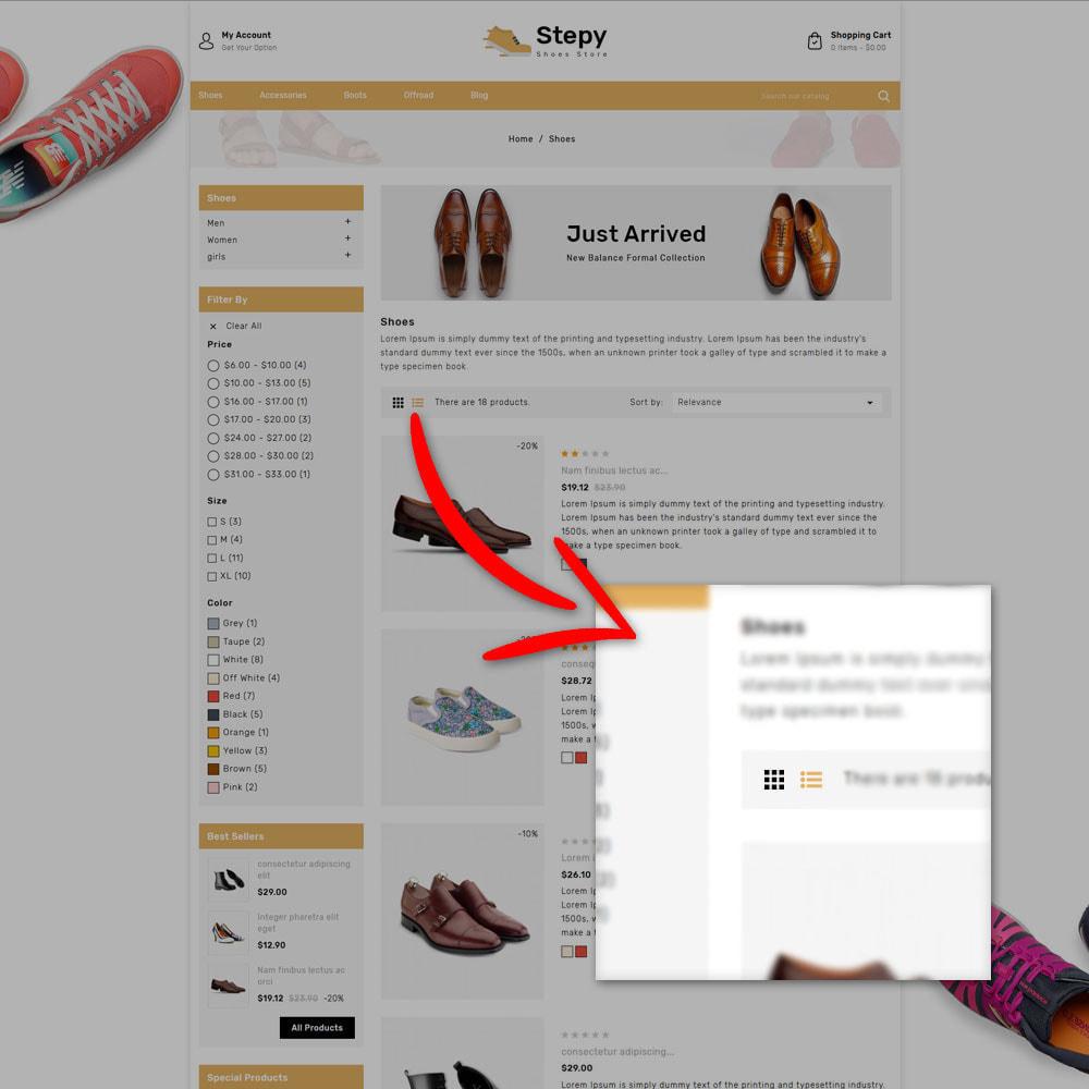 theme - Moda & Obuwie - Stepy - Shoes Store - 5