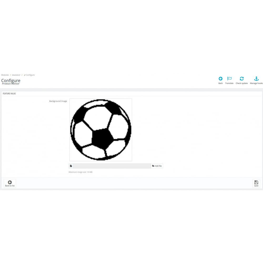 module - Vendas cruzadas & Pacotes de produtos - Products advisor - 6