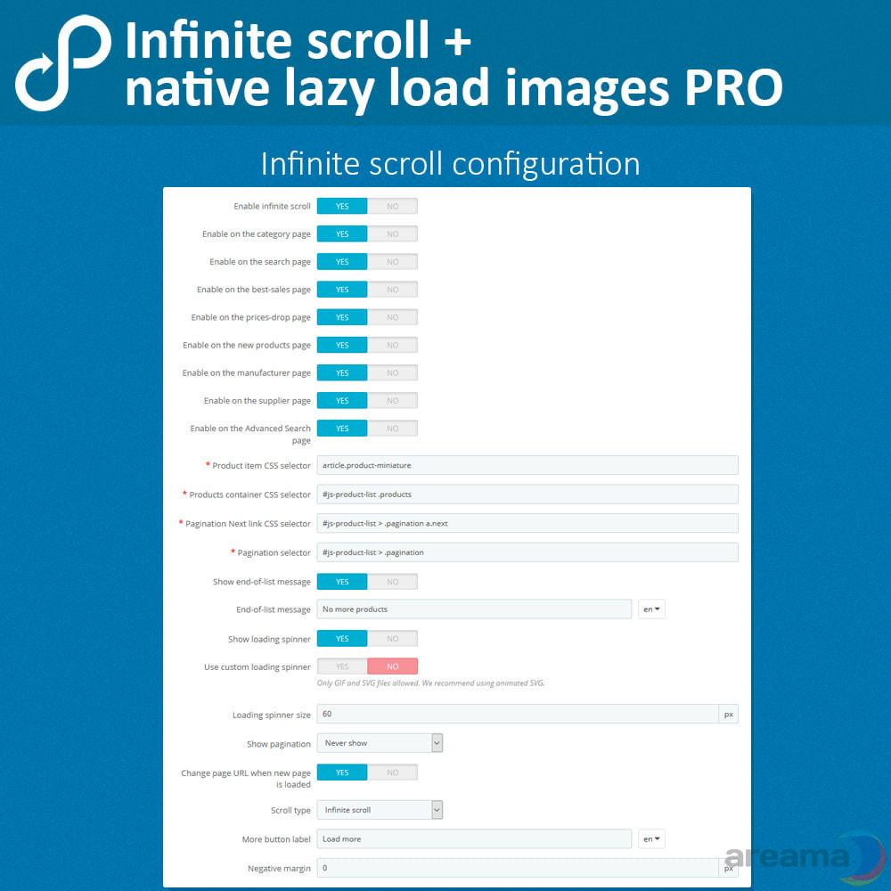 module - Tool di navigazione - Infinite scroll + native lazy load images PRO - 4