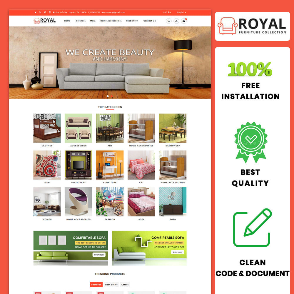 theme - Casa & Giardino - Royal Furniture and Wooden Store - 1