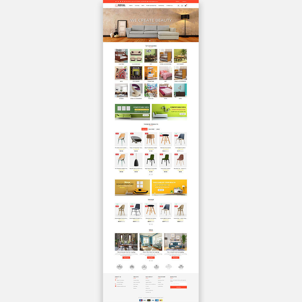 theme - Casa & Giardino - Royal Furniture and Wooden Store - 3