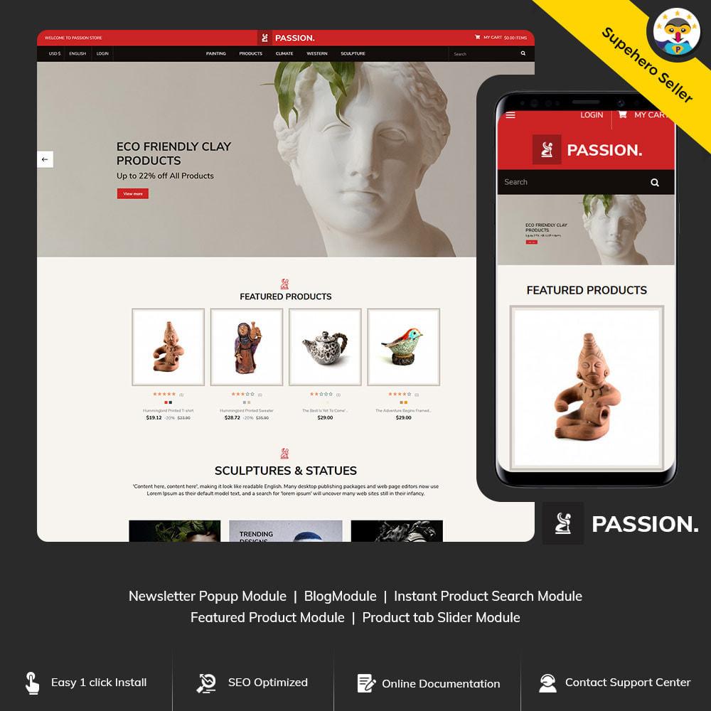theme - Arte & Cultura - Passion Art  - Paint  Handcraft Statue Store - 1