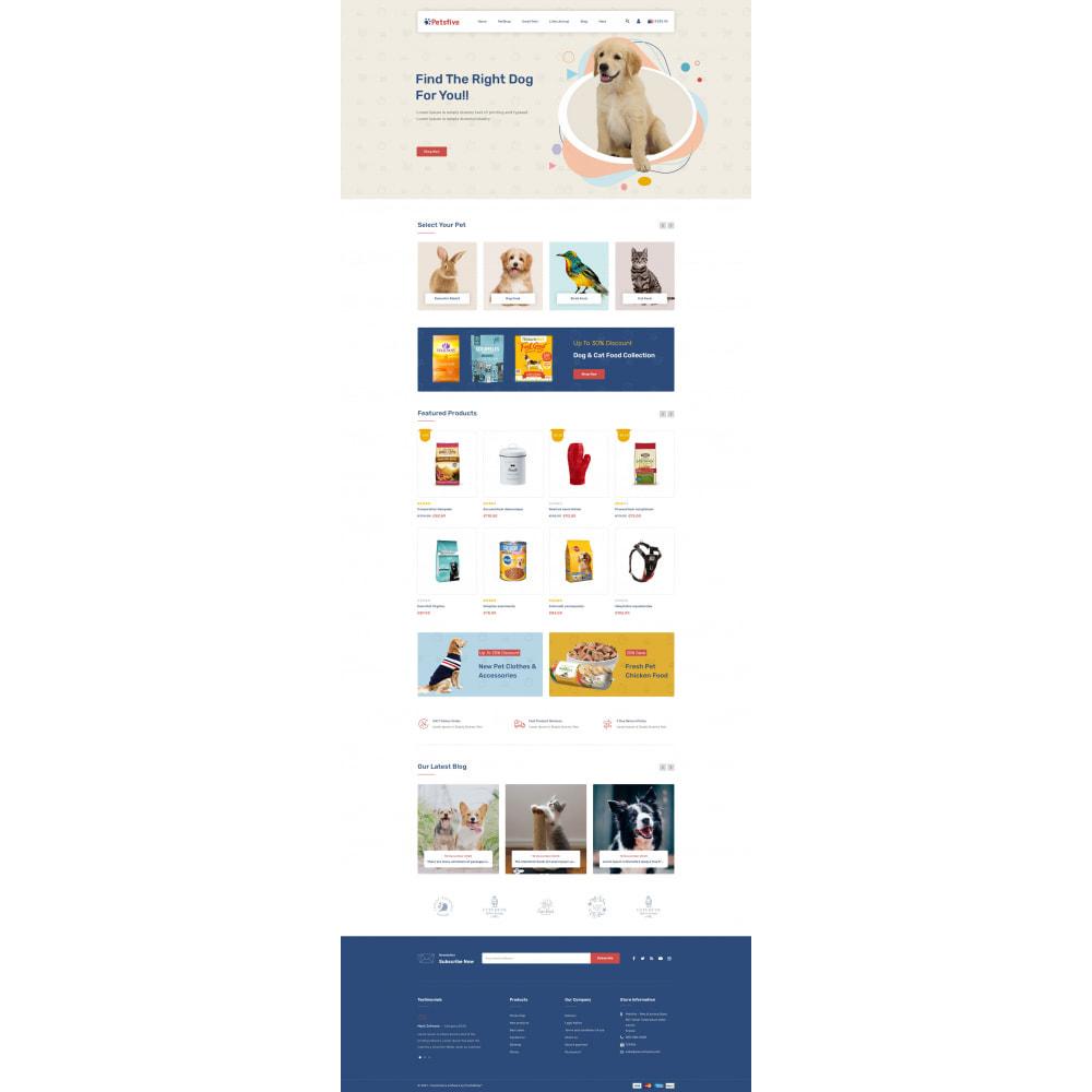 theme - Animals & Pets - Petsfive - Pet & Animal Store - 2