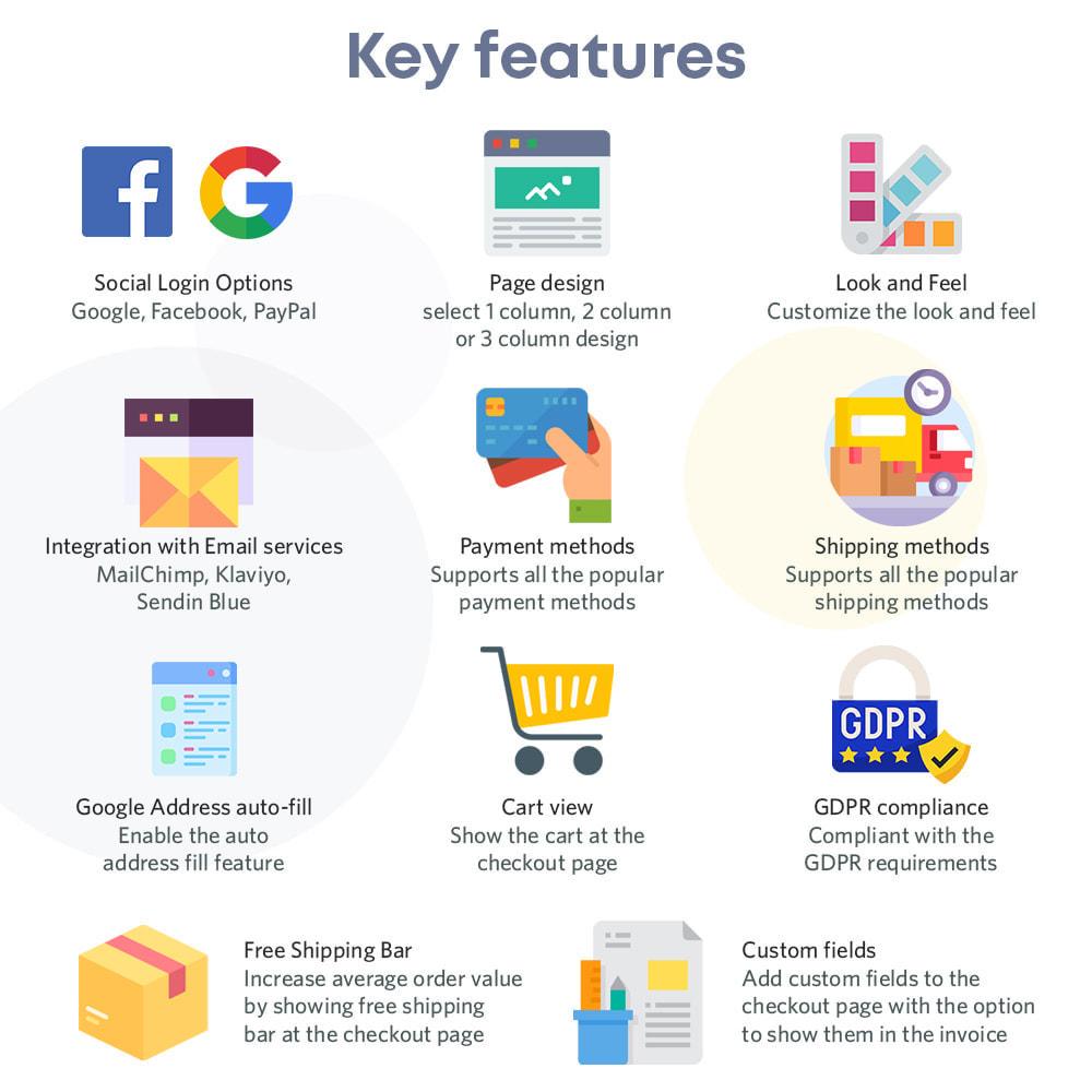module - Bestelproces - One Page Checkout, Social Login & Mailchimp - 2