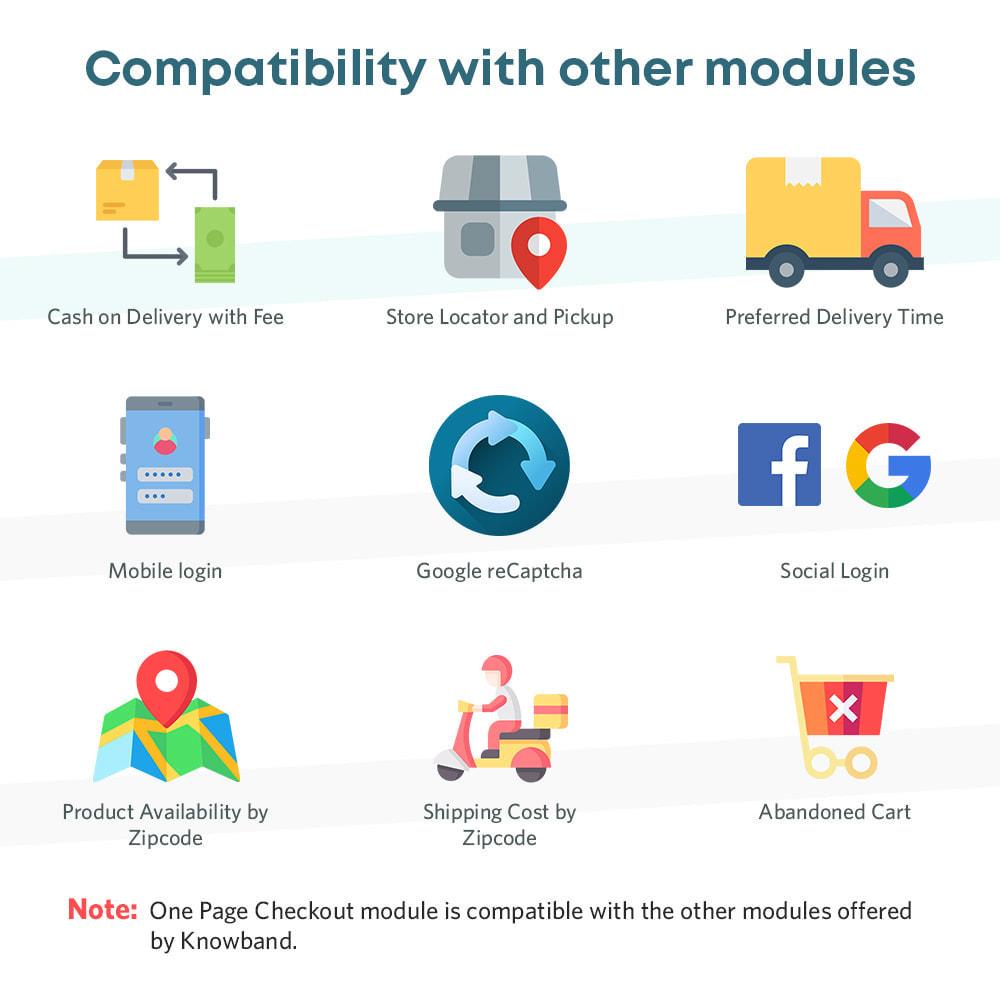 module - Bestelproces - One Page Checkout, Social Login & Mailchimp - 4