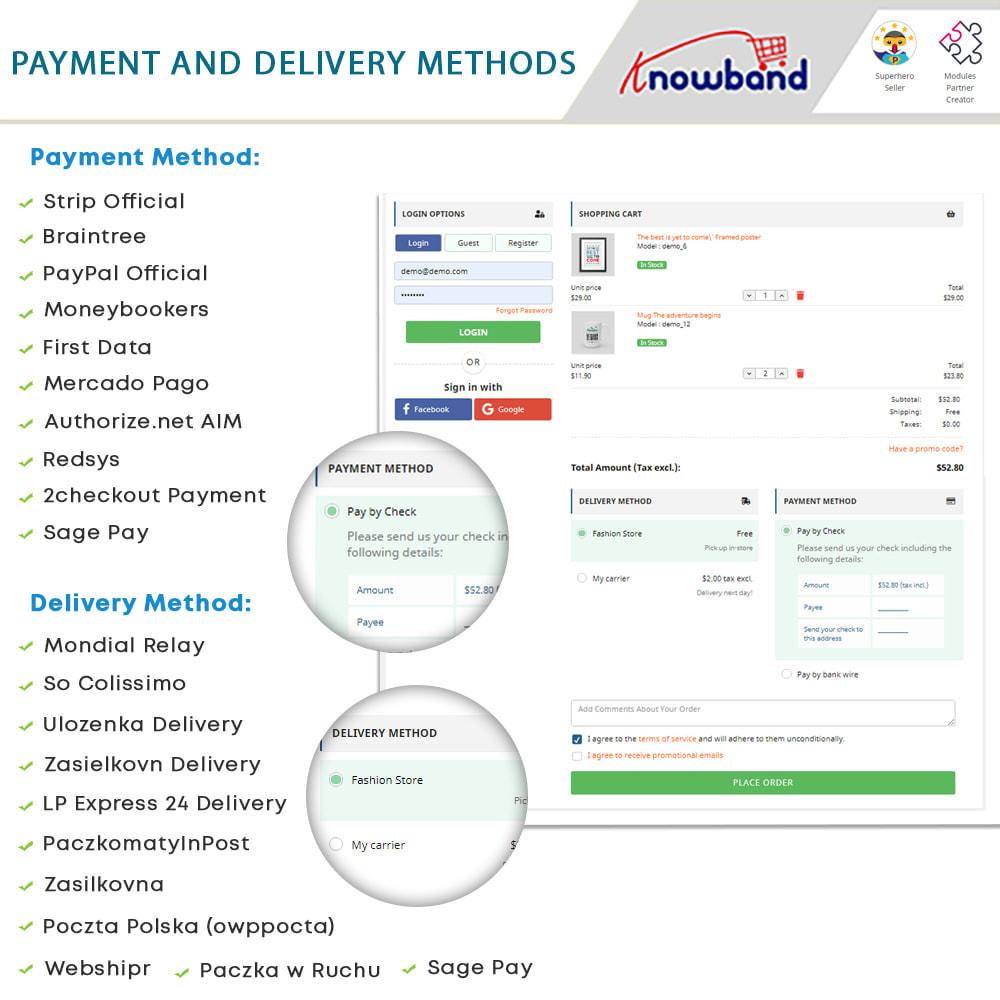 module - Bestelproces - One Page Checkout, Social Login & Mailchimp - 14