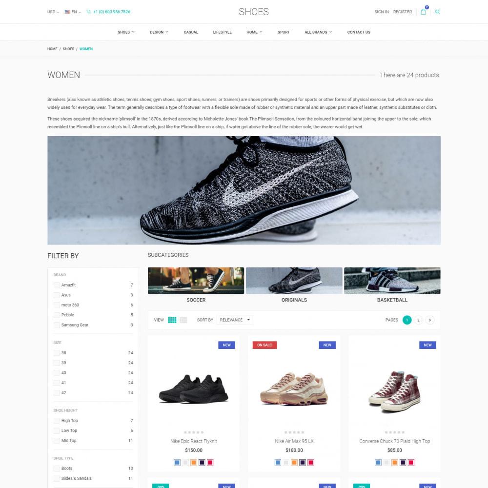 theme - Moda & Calçados - World Footwear - Loja de Sapatos - 4