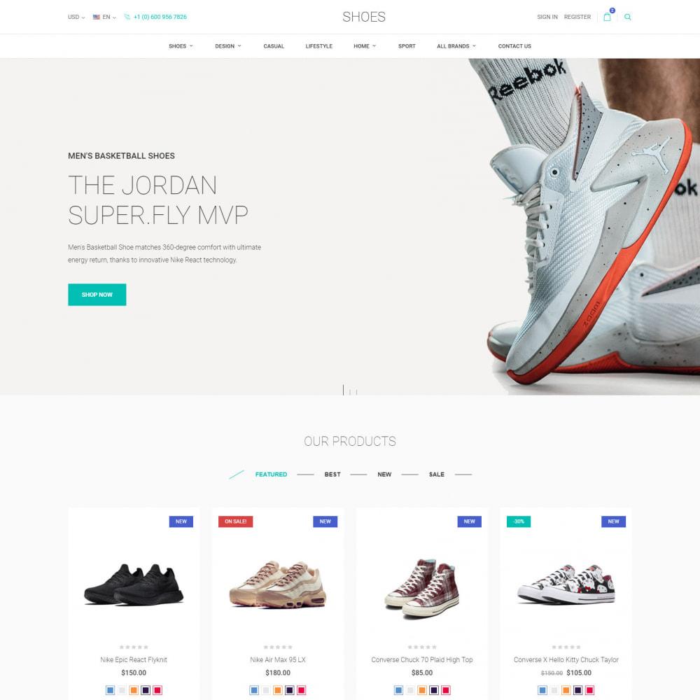 theme - Мода и обувь - World Footwear - Магазин Обуви - 2