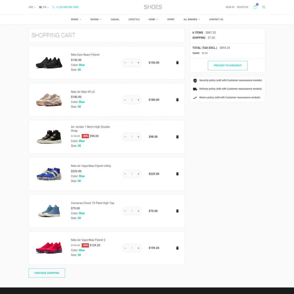 theme - Мода и обувь - World Footwear - Магазин Обуви - 8