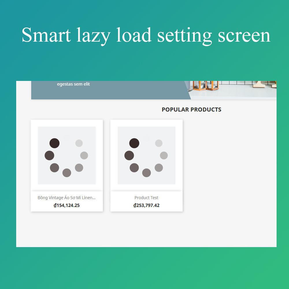 module - Performance du Site - Smart optimization - lazy load images - 2