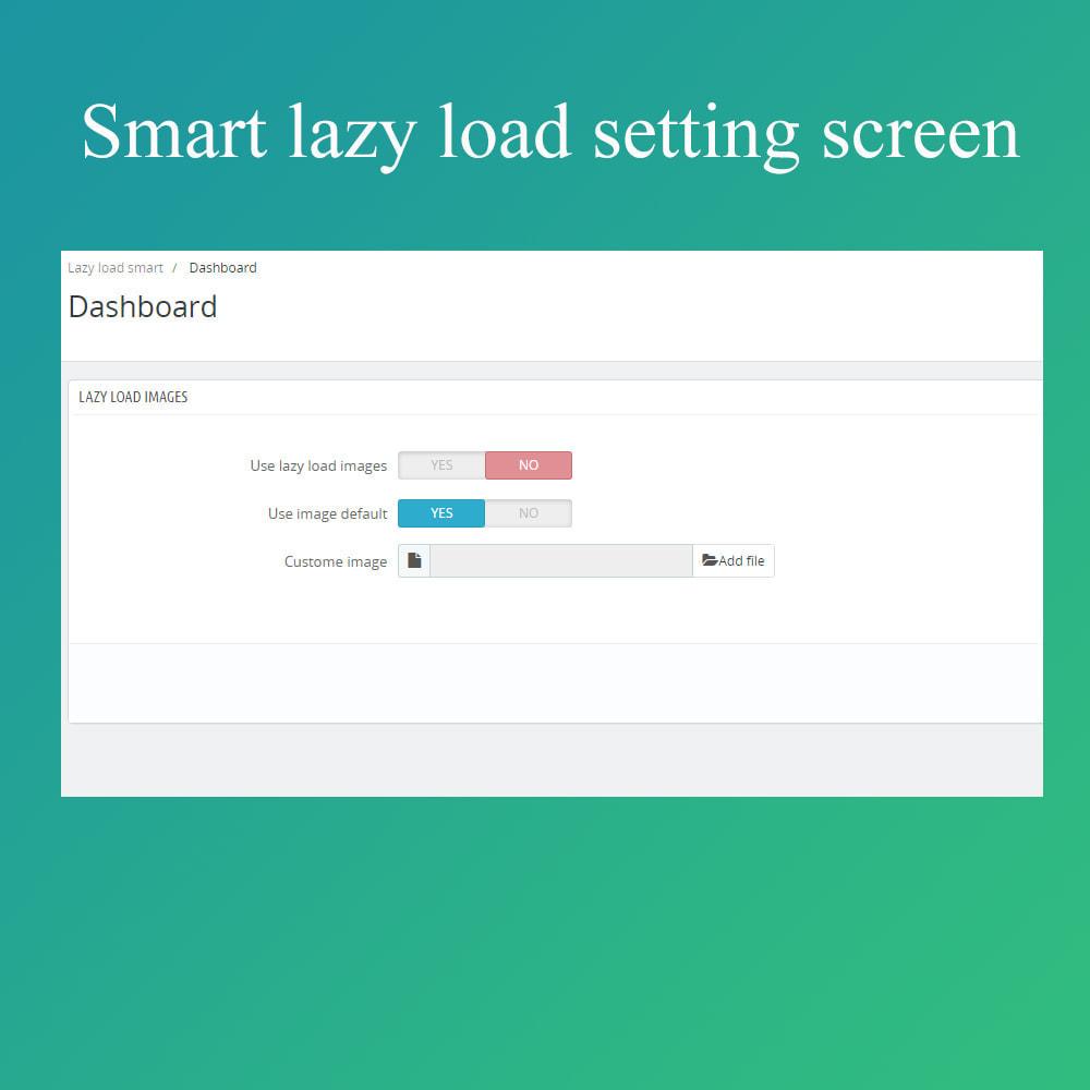 module - Performance du Site - Smart optimization - lazy load images - 3