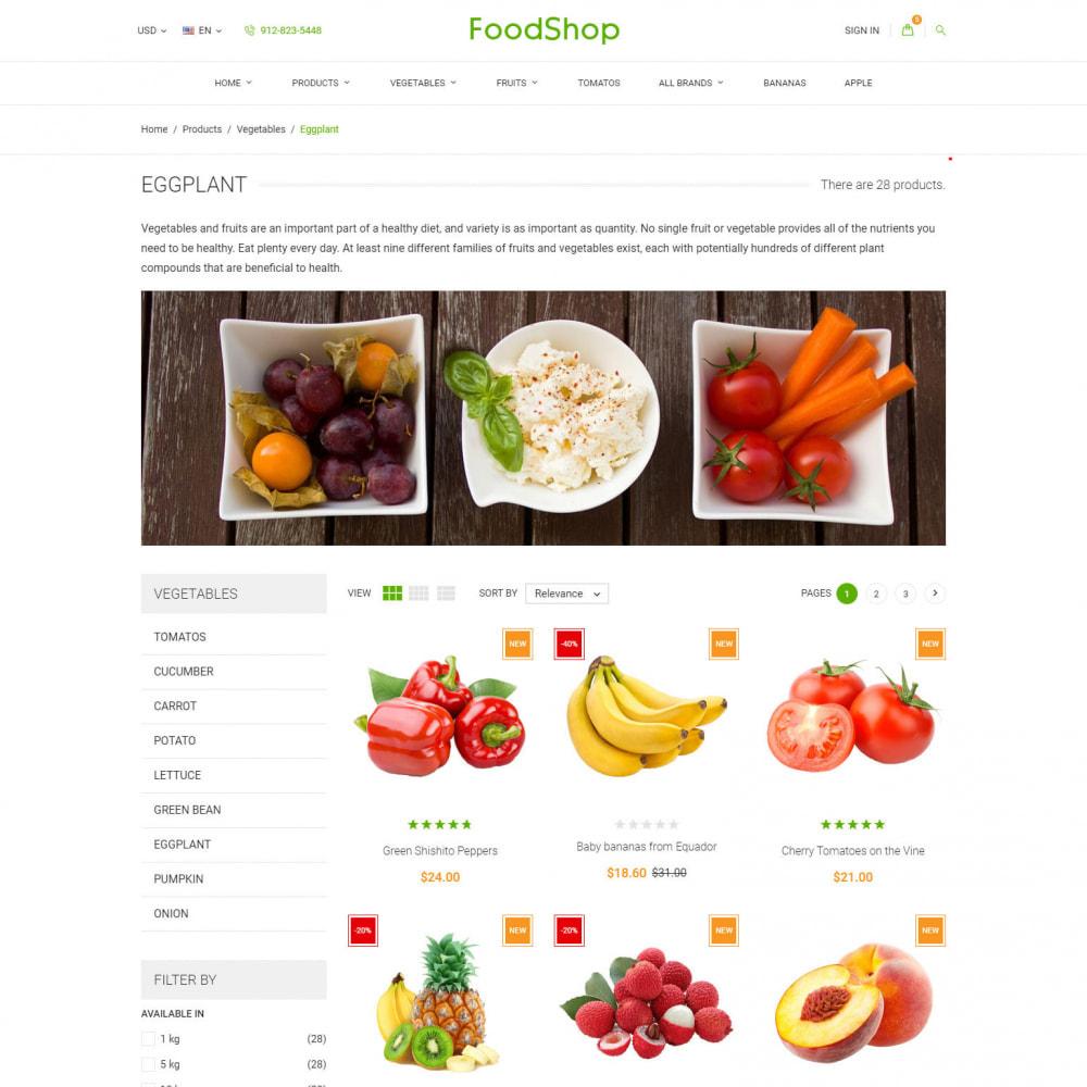 theme - Alimentation & Restauration - Organic Garden - Food Store - 4