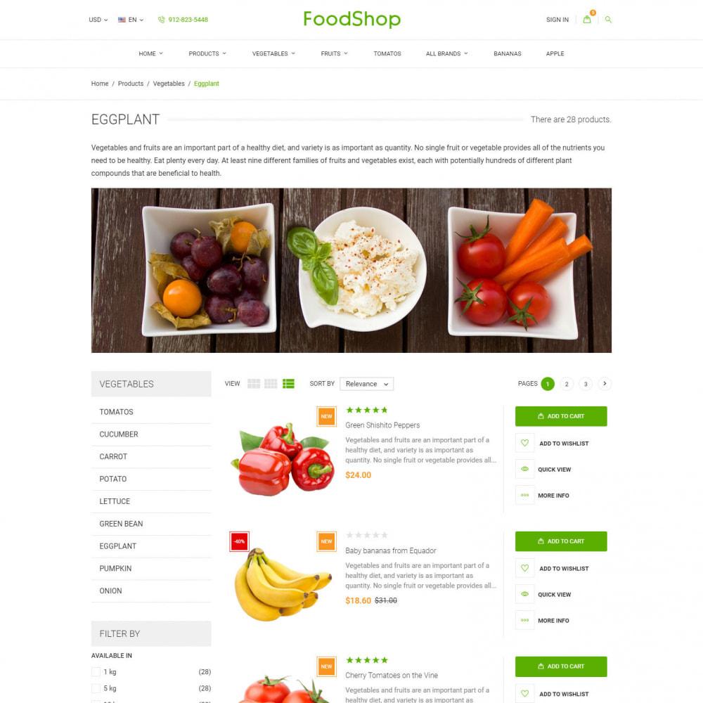 theme - Cibo & Ristorazione - Organic Garden - Food Store - 6