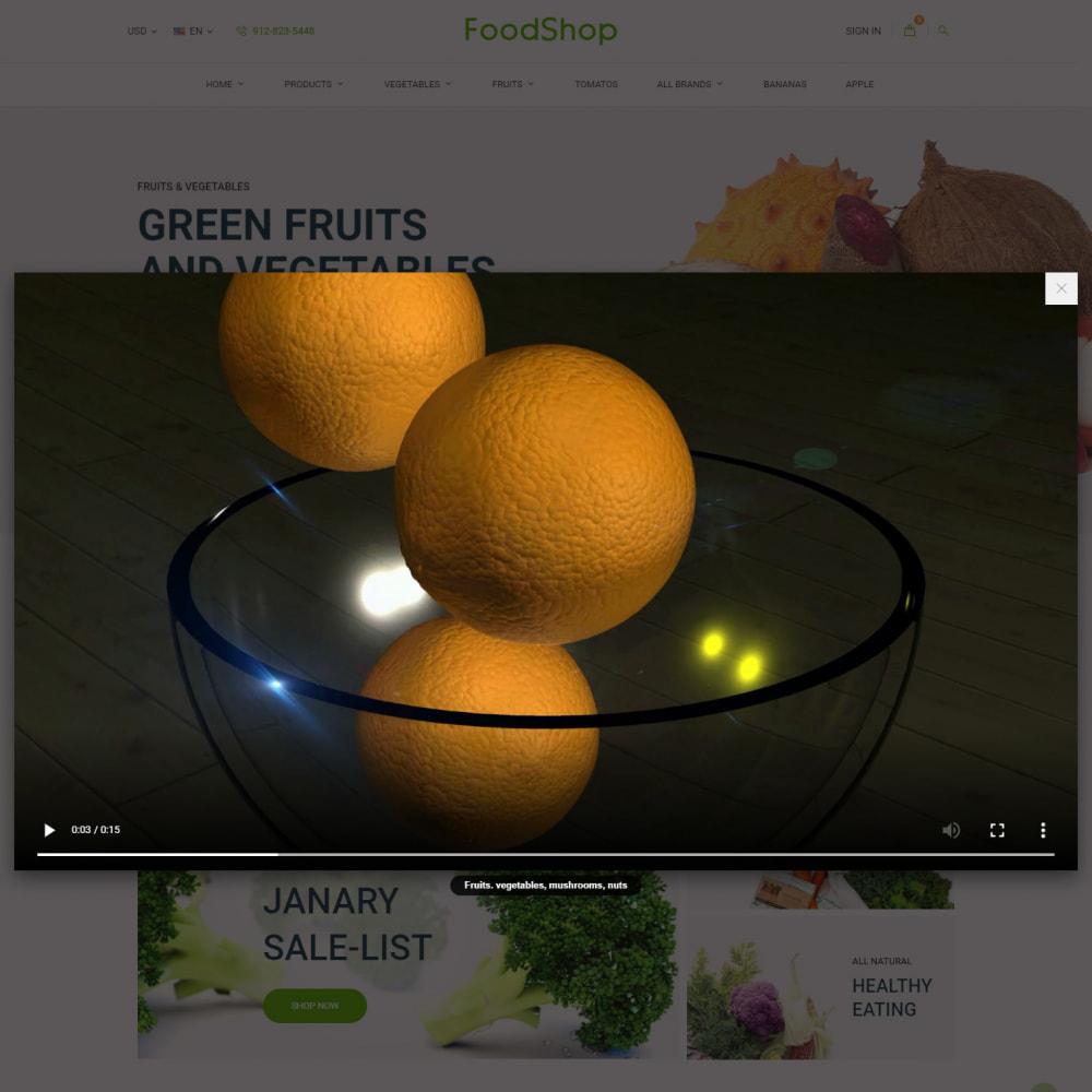 theme - Cibo & Ristorazione - Organic Garden - Food Store - 11