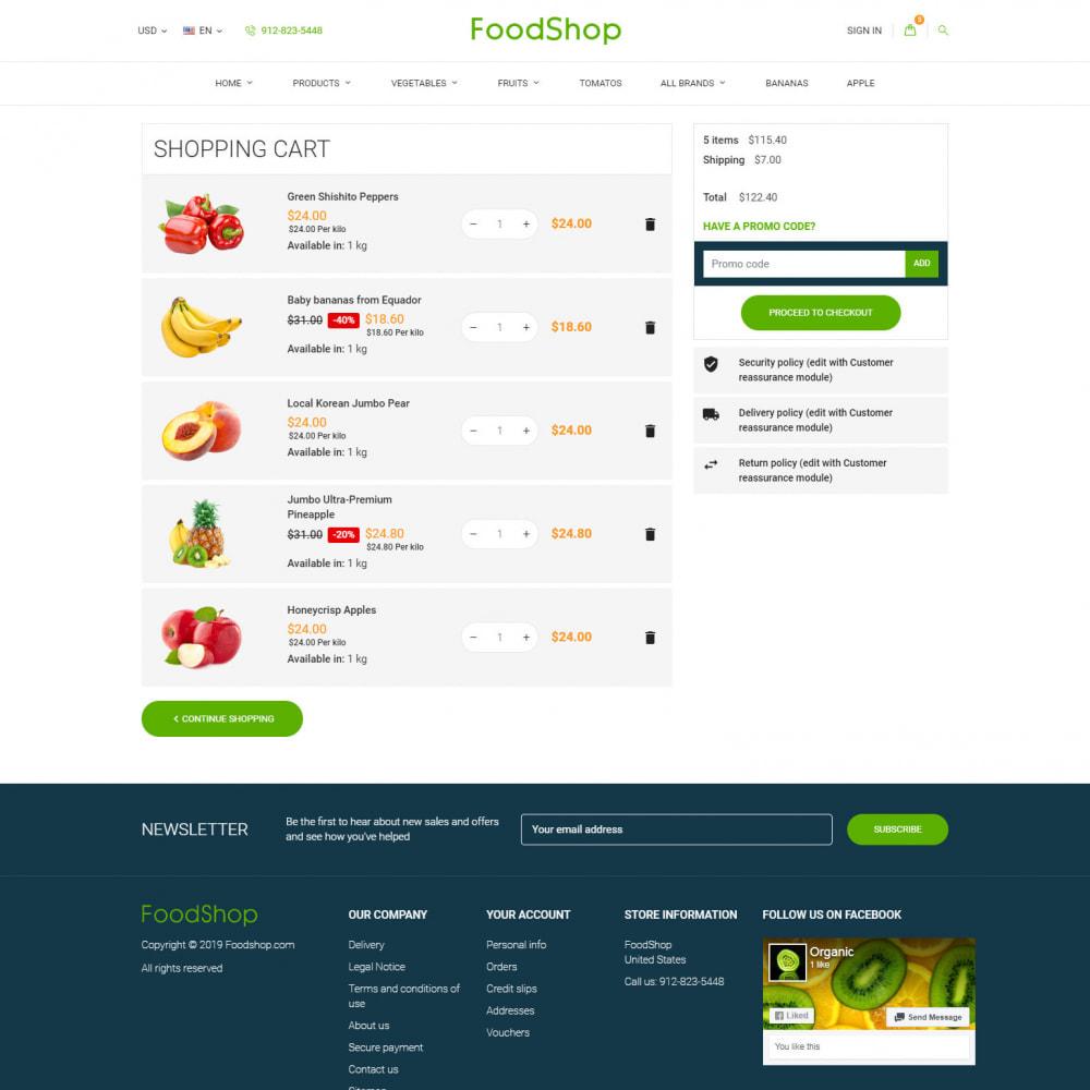 theme - Żywność & Restauracje - Organic Garden - Food Store - 9