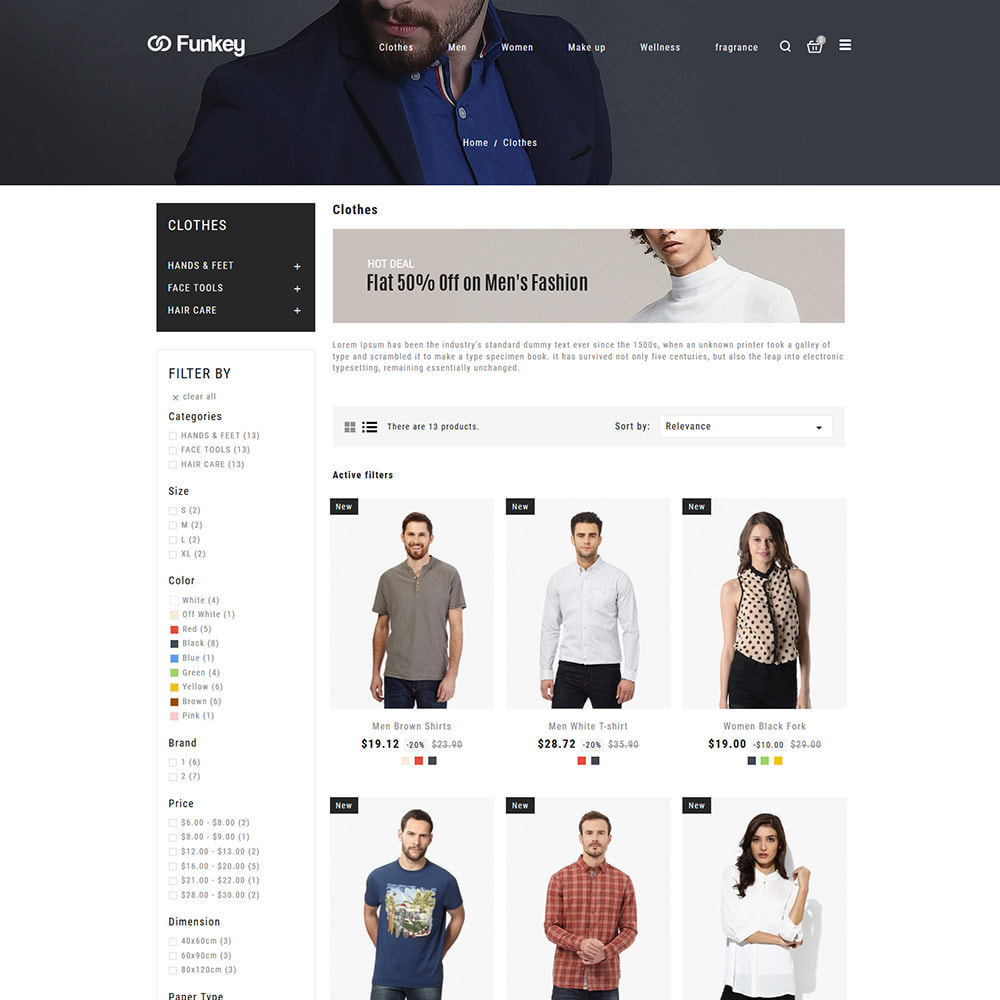theme - Moda & Obuwie - Odzież modowa - sklep dla kobiet projektantów - 4
