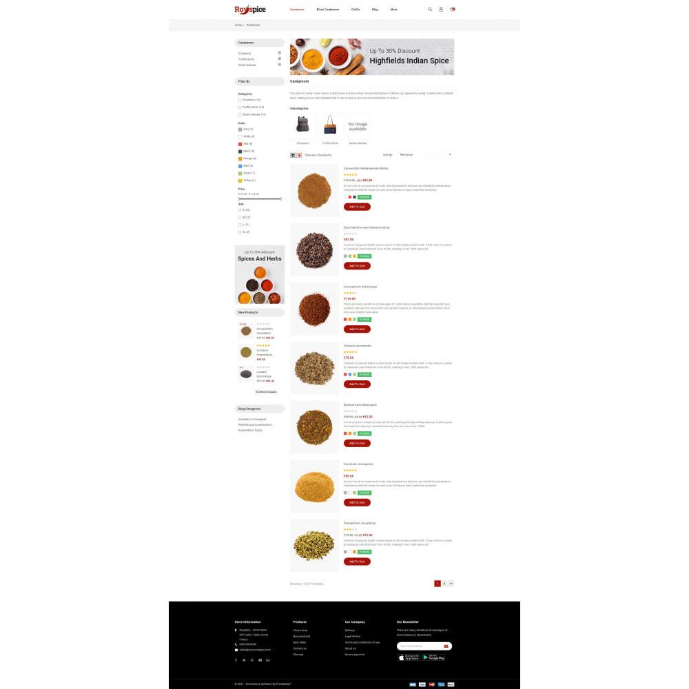 theme - Food & Restaurant - Royspice  - Online Spice Store - 4