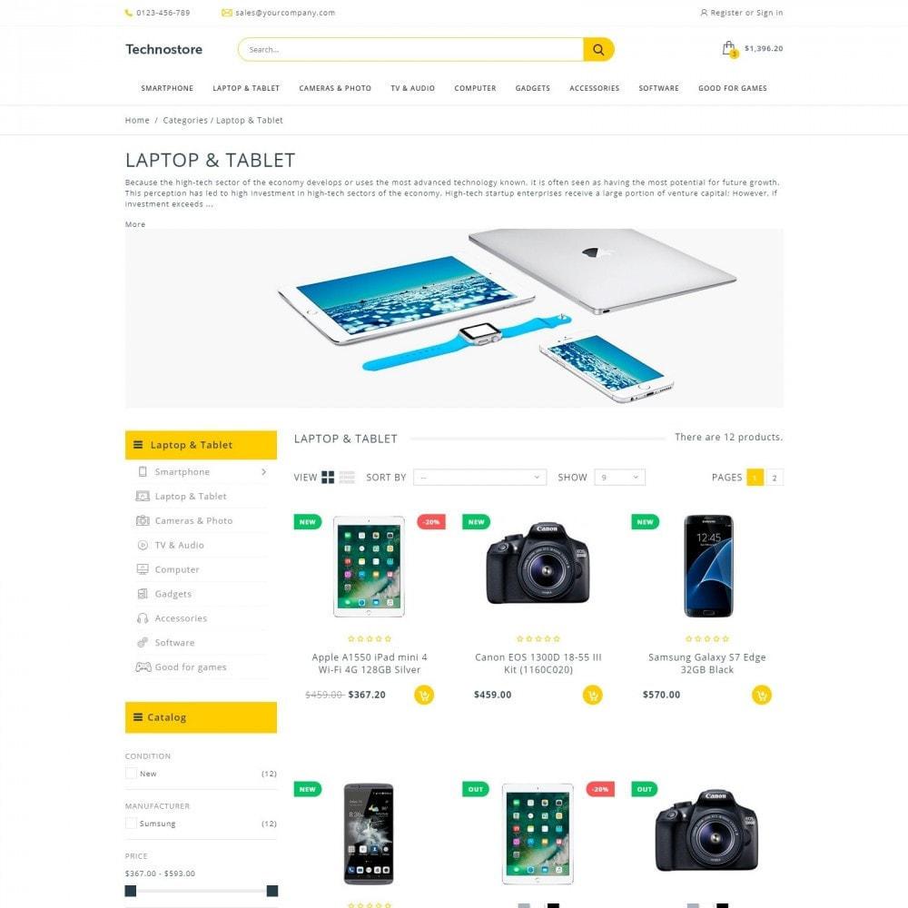 theme - Electronics & Computers - Technostore - Hi-Tech Online Store - 3