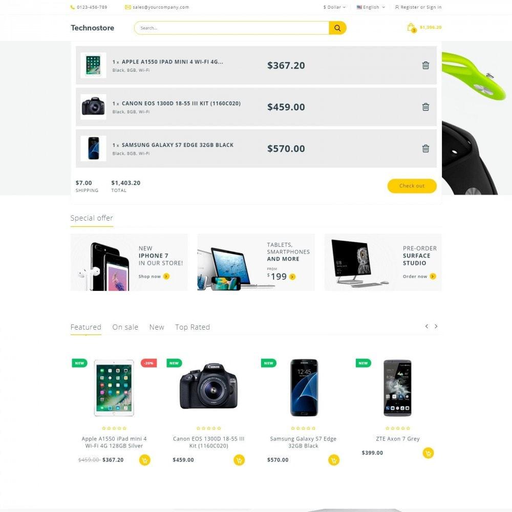 theme - Electronics & Computers - Technostore - Hi-Tech Online Store - 6