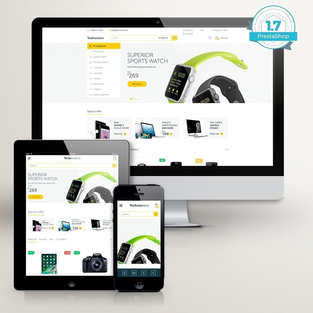 theme - Elektronica & High Tech - Technostore - Elektronica Winkel - 2