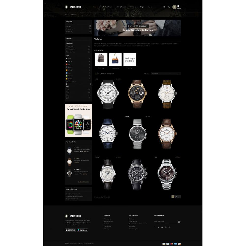 theme - Jewelry & Accessories - TimeRound - Watch Store - 3