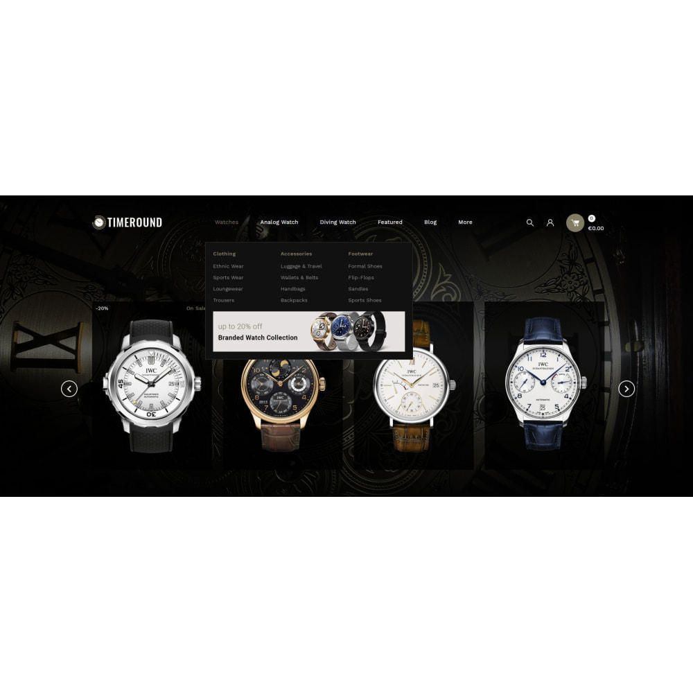 theme - Jewelry & Accessories - TimeRound - Watch Store - 6