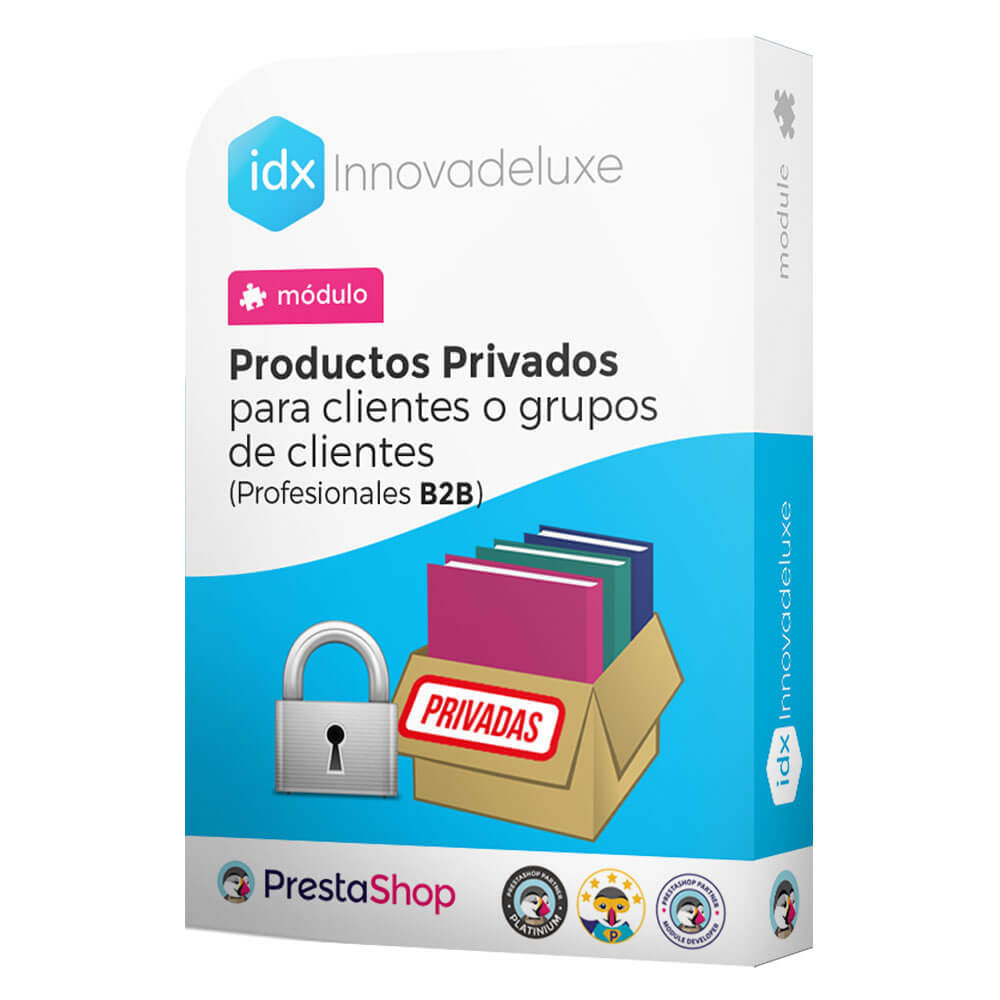 module - B2B - Private products for B2B stores - 1
