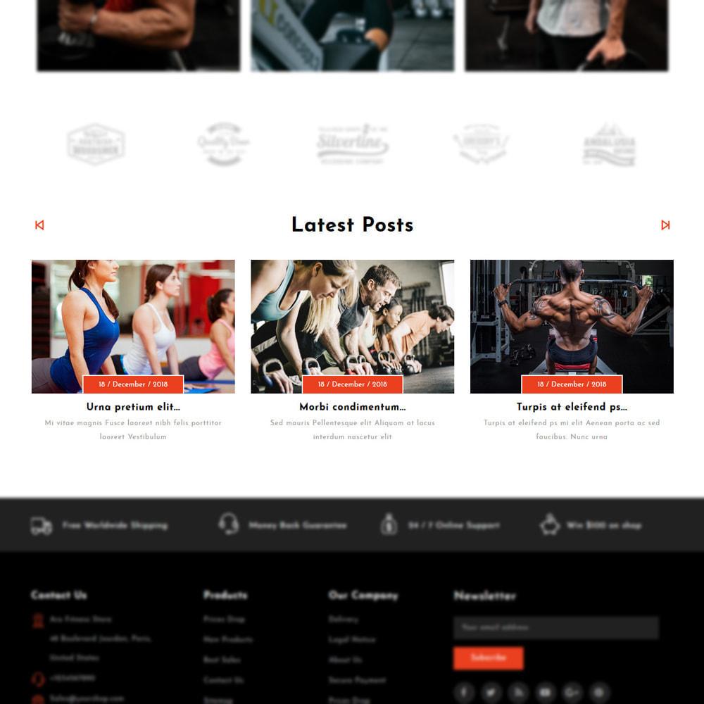 theme - Мода и обувь - Aro - Fitness Shop - 5