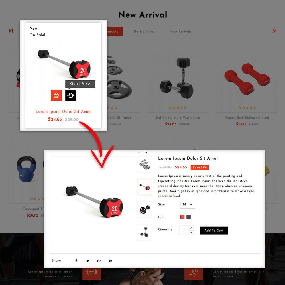 theme - Мода и обувь - Aro - Fitness Shop - 9