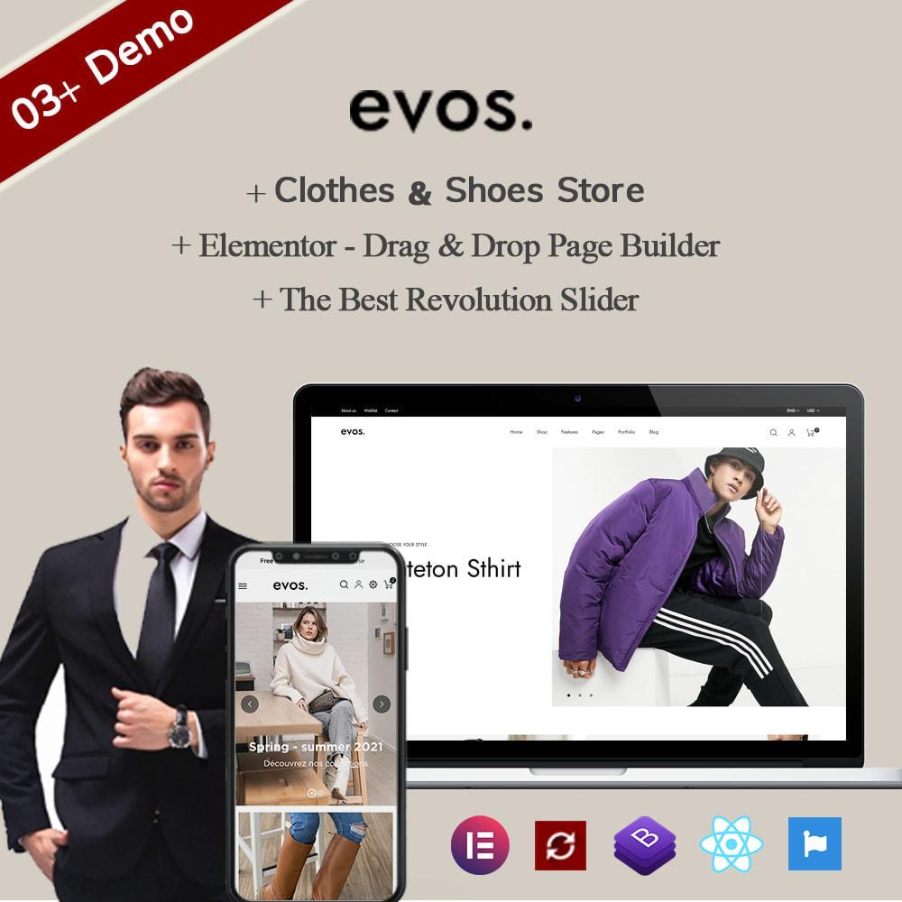 theme - Mode & Schuhe - Evos Elementor - Modern Fashion & Shoes Store - 1