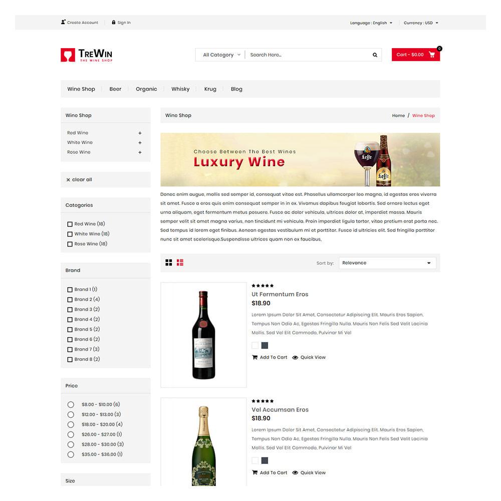 theme - Bebidas & Tabaco - Trewin Drinks and  Wine Store - 4