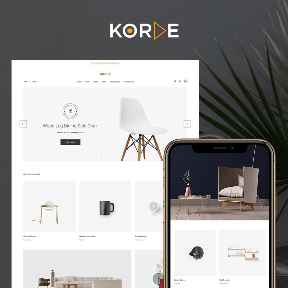 theme - Home & Garden - Korde - Furniture & Interior Home Decor - 1