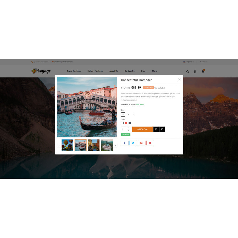 theme - Sports, Activities & Travel - Voyage - Travels Store - 8