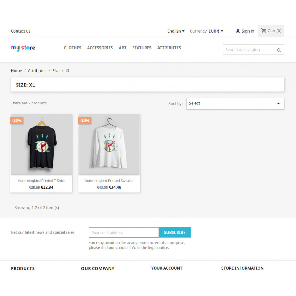 module - SEO - SEO pages of product features and attributes - 4
