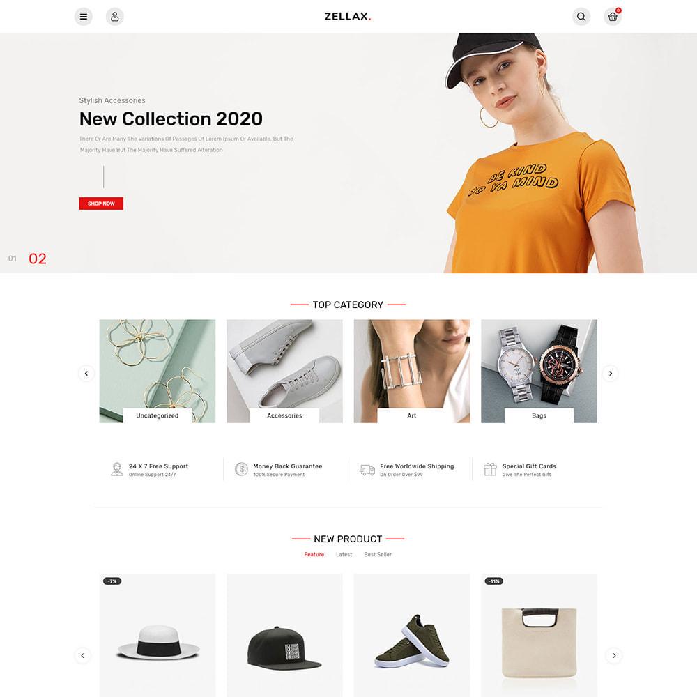 theme - Fashion & Shoes - Zellax - Trendy Online Fashion - 2