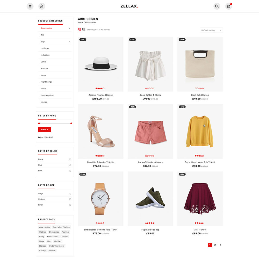 theme - Fashion & Shoes - Zellax - Trendy Online Fashion - 4