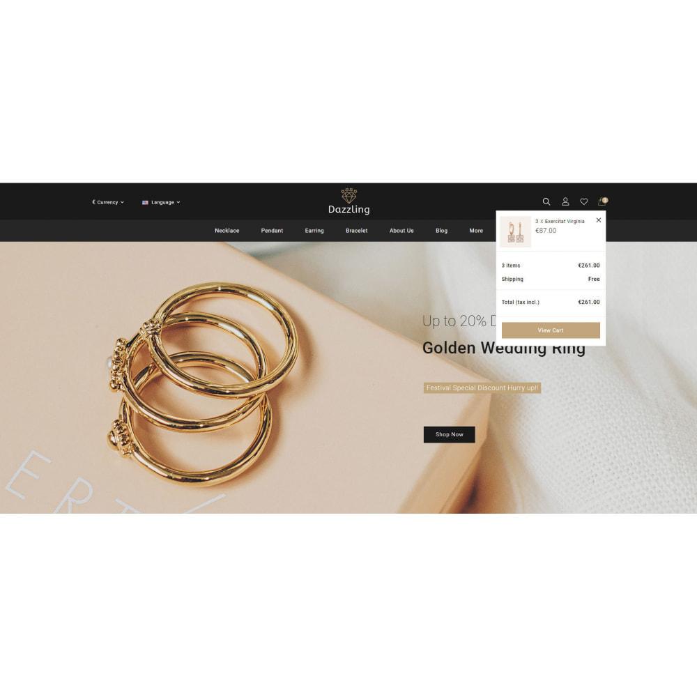 theme - Bellezza & Gioielli - Dazzling - Golden Jewelry Store - 6