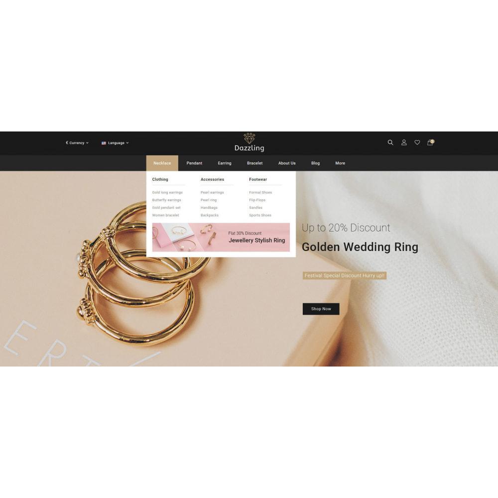 theme - Bellezza & Gioielli - Dazzling - Golden Jewelry Store - 8