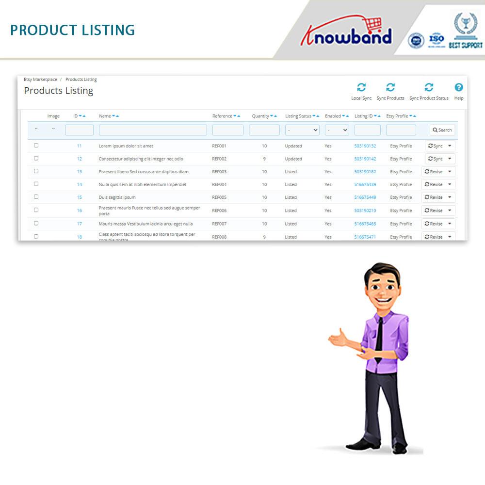 module - Marktplaats (marketplaces) - Etsy Marketplace Integration - 5