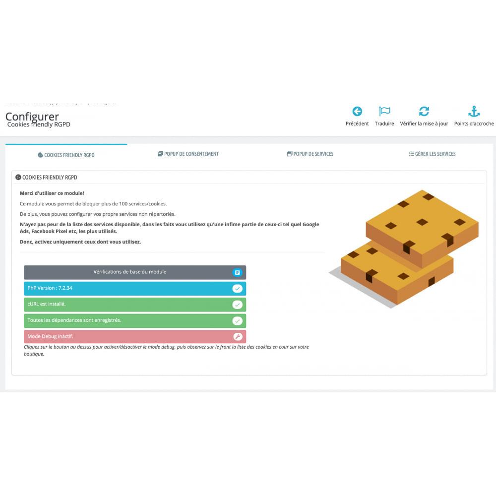 module - Législation - Cookies friendly RGPD - 3