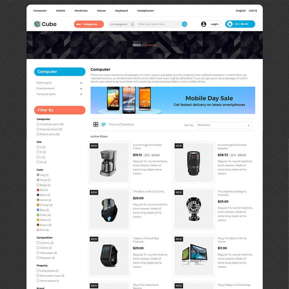 theme - Electronics & Computers - Cube Electronics Mobile - Computer Digital Drone Store - 4