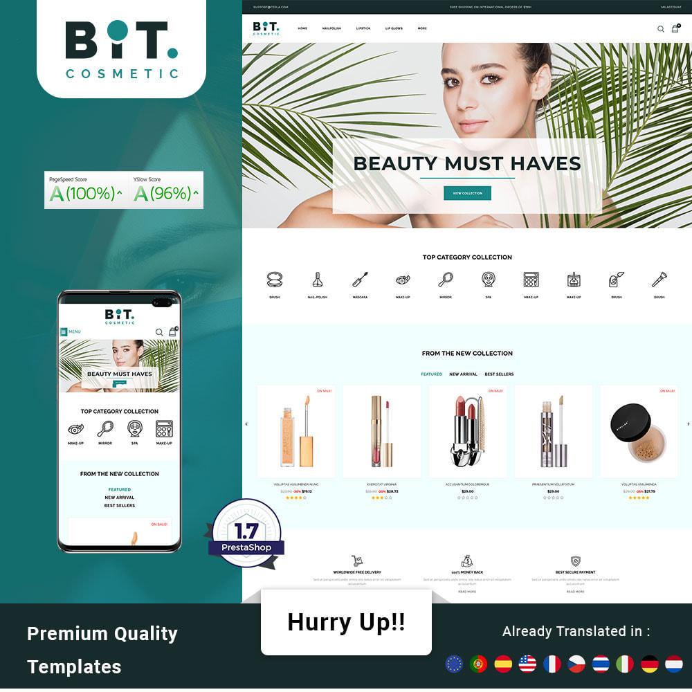 theme - Health & Beauty - Bitcosmetic - Cosmetic Store - 1